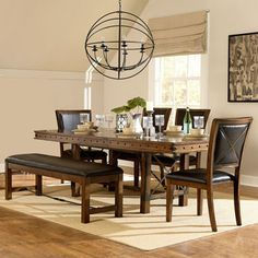 Cortez 6-pc. Dining Set with Bench