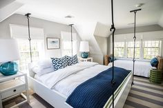 Nice 70+ Navy and White Bedroom Ideas https://pinarchitecture.com/70-navy-and-white-bedroom-ideas/