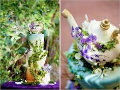 alice in wonderland themed garden - Google Search