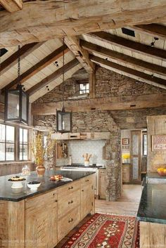 68 rustic log cabin homes design ideas