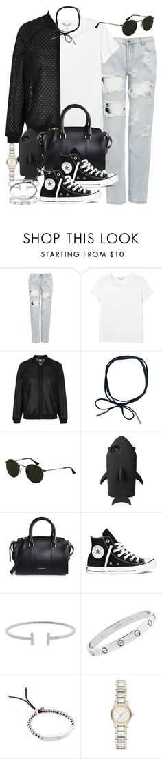 """Sin título #3831"" by hellomissapple on Polyvore featuring moda, One Teaspoon, Monki, Topshop, STELLA McCARTNEY, Burberry, Converse, Humble Chic, Cartier y Michael Kors"