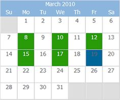 Event Calendar Maker Excel Template  Monthly Design  Event