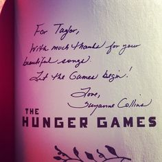 Pays to be famous sometimes, right Taylor Swift? #HungerGames