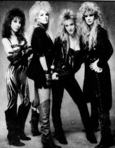 Vixen - Broke the Hair Band ceiling 80s Rock Bands, 80s Hair Bands, Rock N Roll Music, Rock And Roll, Hard Rock, Heavy Metal, 80s Rock Fashion, Long Blonde Wig, Women Of Rock