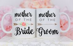 Mother of the Bride Gift, Mother of the Groom Gift, Wedding Mugs, Mother of the Bride Mug Mother Of The Groom Gifts, Wedding Gifts For Parents, Bride And Groom Gifts, Father Of The Bride, Gifts For Wedding Party, Wedding Wishes, On Your Wedding Day, Mother Wedding Gifts, Gifts For The Bride