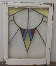 US $130.00 in Antiques, Architectural & Garden, Stained Glass Windows