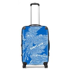 Stand out from the crowd and show your love for Scotland, wherever you are in the world! This luxury lightweight suitcase comes in a range of sizes suitable for all member of the family.