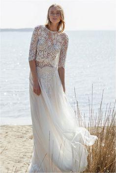 The Costarellos Bride: Romantic Chic Wedding Gowns For The Bohemian Bride