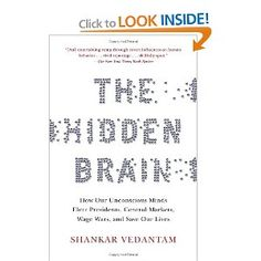 """Interesting psychological book that explains how our """"automatic"""" brain takes over more often than we know."""