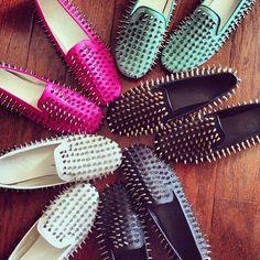 I love my studded flats! I Love Fashion, Fashion Details, New Fashion, Fashion Shoes, Cute Shoes, Me Too Shoes, College Wardrobe, Studded Loafers, Rocker Style