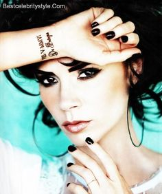 nice 25 Sexy Victoria Beckham Tattoo Designs