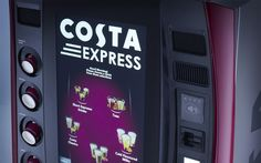 Costa Coffee to roll out 150 self-serve machines across Canada