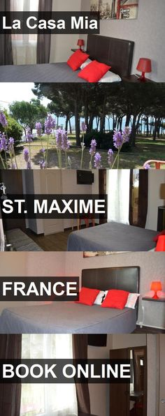 Hotel La Casa Mia in St. Maxime, France. For more information, photos, reviews and best prices please follow the link. #France #St.Maxime #LaCasaMia #hotel #travel #vacation