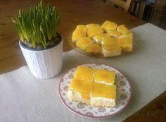 Picture of Recept - Žravé řezy Czech Desserts, Czech Recipes, Sweet Recipes, Tiramisu, Nutella, Cantaloupe, Pineapple, Cheesecake, Mango