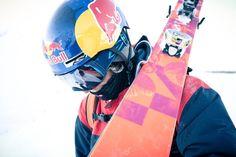 Image result for red bull ski helmet