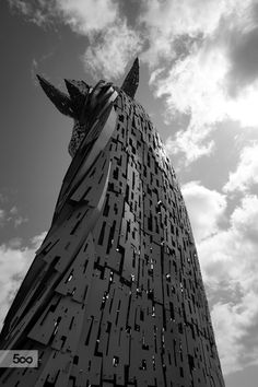 The Kelpies - back of the head by Ludovic Farine on 500px