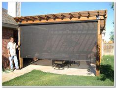 outdoor patio wind blockers