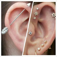 how to get an industrial piercing to heal