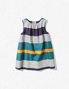 striped dress by zara baby