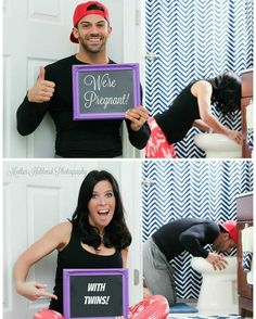 34 Trendy baby reveal ideas for husband cute Pregnancy Humor, Pregnancy Photos, Pregnancy Info, Early Pregnancy, Sibling Photos, Pregnancy Shirts, Cute Pregnancy Announcement, Twin Baby Announcements, Pregnant With Twins Announcement