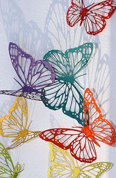 We can laser cut card or paper in various colours and textures