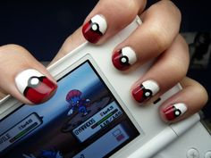 These Pokemon-inspired nails are too cute! If only I was patient enough, or talented enough.