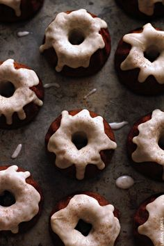 Doughnuts on Pinterest | Donuts, Baked Donuts and Mini Donuts