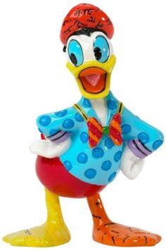 Enesco Disney by Britto Donald Duck 3.25-Inch Character Figurine, Mini