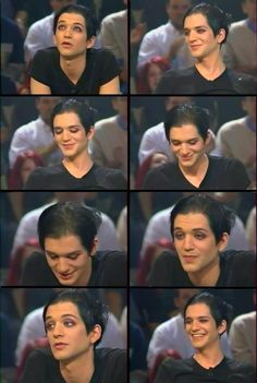 brian molko in an interview Brian Molko, Alternative Rock Bands, Music Heals, Amazing Grace, Androgynous, Rock N Roll, Musicians, Beautiful People, Interview