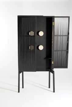 Cabinet by Charlie Styrbjörn Nilsson in collaboration with Olle K Engberg and Ludwig Berg  / London Design Journal