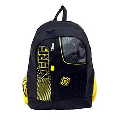 Nerf Yellow 16 - Click image twice for more info - See a larger selection of yellow  backpacks at http://kidsbackpackstore.com/product-category/yellow-backpacks/ - kids, juniors, back to school, kids fashion ideas, teens fashion ideas, school supplies, backpack, bag , teenagers girls , gift ideas, yellow
