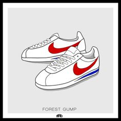 save off 7b54b e9e13 Iconic Kicks by Marcus Allen, via Behance Marcus Allen, Music Icon,  Sneakers Nike