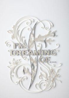 Paper Art by Yulia Brodskaya    Yulia Brodskaya est une artiste russe vivant en Angleterre. Cette talentueuse créatrice nous propose de découvrir des compositions typographiques faîtes de papier. Très détaillées, ses oeuvres ont fait d'elle une artiste aujourd'hui prisée par de nombreux annonceurs à travers le monde. Plus dans la suite.