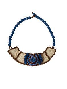Little Amazon Luxury Necklace Swarovski  Handmade in by shopandes