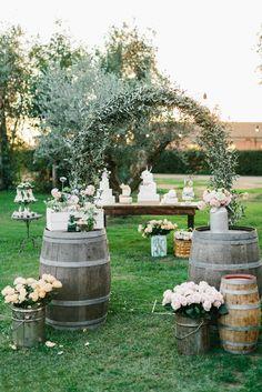 Dal corso my country Wedding. Allestimento Country Chic... by silviadeifiori