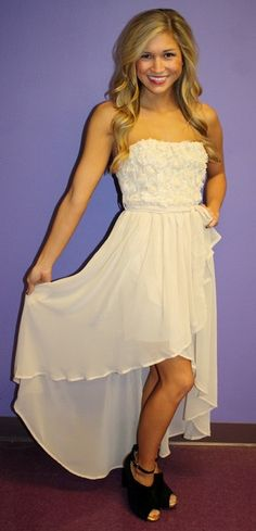 I dont normally like high low dresses but ...