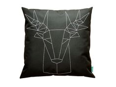 Hey, I found this really awesome Etsy listing at https://www.etsy.com/listing/178275419/geometric-deer-home-decor-couch-pillow
