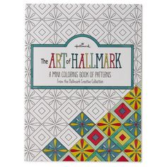 The Art Of Hallmark A Mini Coloring Book Patterns