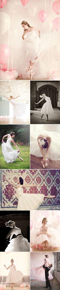 Praise Wedding » Wedding Inspiration and Planning » Sweet Ballerina Brides. #Ballet_beautie  #sur_les_pointes  * Ballet_beautie, sur_les_pointes *