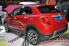 """The New Fiat 500X has arrived! Presented at Paris Motor Show in the world premiere, the new born marks the evolution of the brand and technology in a new dimensions: with distinctive, elegant """"Made in Italy"""" style it gathers a substance of a comfort and performance. Fiat 500x, New Fiat, Dream Garage, Italian Style, Concept Cars, Paris, Evolution, Technology, Finger"""
