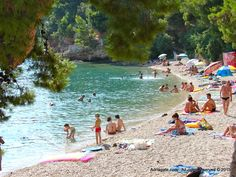Bol on island of Brač is a famous surfing center which offers numerous other sport activities. Croatian Islands, Famous Buildings, Sports Activities, Tourism, Dolores Park, Surfing, World, Travel, Famous Structures