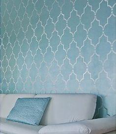 Amazon.com: Wall Stencil Marrakech Trellis - Lg - Reusable stencils for DIY decor: Home Improvement