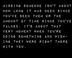 Missing You... - Quotes A Day