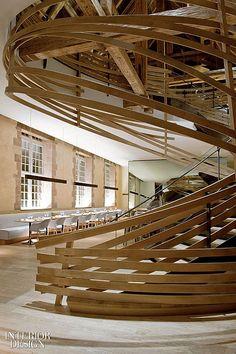 Stairs: Jouin Manku Renovates Former Louis XV Farm | Projects | Interior Design