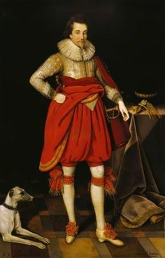 """""""Sir Thomas Parker of Ratton"""", Marcus Gheeraerts the younger, ca. 1620; NT 872163"""