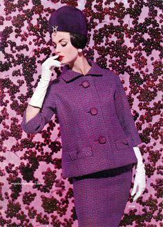 Vintage Vogue | purple