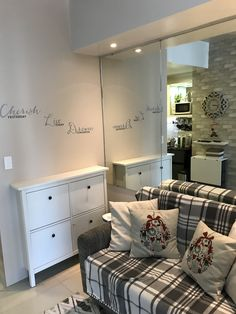 Condo Interior Design, Condo Design, Apartment Design, Furniture Design, Condominium Interior, Small Condo, Condo Decorating, Tiny House Living, Home Studio