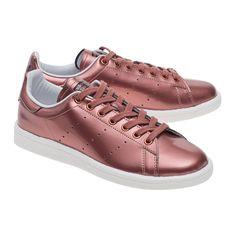 official photos 101d5 4a5ea ADIDAS ORIGINALS Stan Smith Boost Copper Metallic Metallic sneakers - Shoes