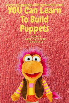 Learn to make great professional quality puppets. Easy to follow tutorials. Free patterns Sock Puppets, Finger Puppets, Ventriloquist Puppets, Puppet Patterns, Egg Carton Crafts, Puppet Making, Dragon Crafts, Horse Crafts, Chinese Lanterns