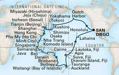 Holland America,2017 Grand Asia Voyage,ms Amsterdam